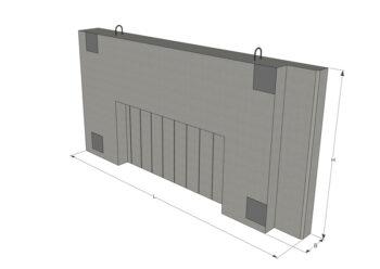 Доборная стеновая панель КСд-8