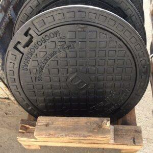 """Люк чавунний каналізаційний важкий типу """"Т"""" С250 (БМ)"""