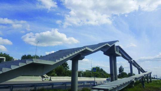 Элементы автомобильных мостов и надземных переходов